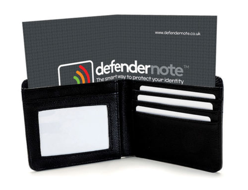 How to use Defender Note in a Wallet