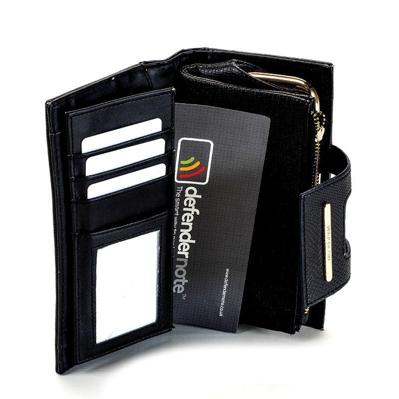 Protect your bag or purse with a defender note